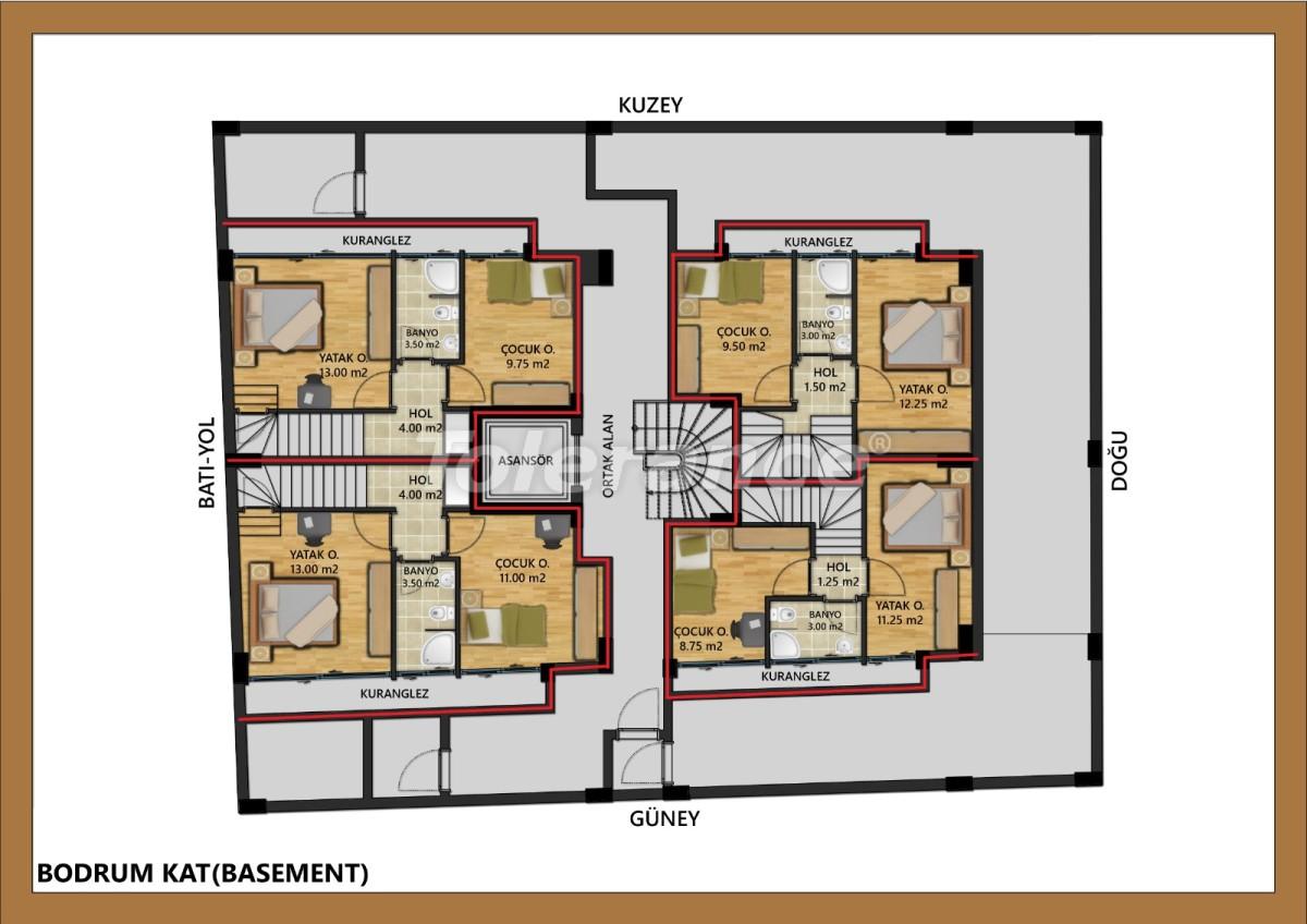 Шикарные квартиры в центре Анталии  рядом с морем от надежного застройщика - 30002   Tolerance Homes