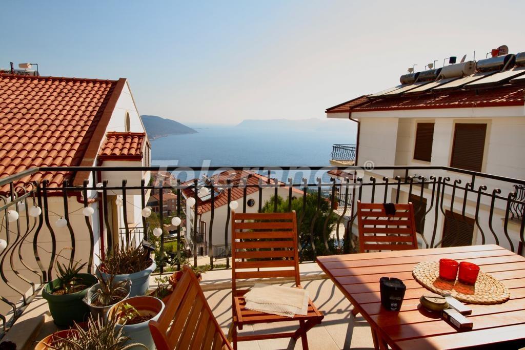 Вторичная трехкомнатная квартира в центре Каша с красивым видом на Средиземное море - 30588 | Tolerance Homes