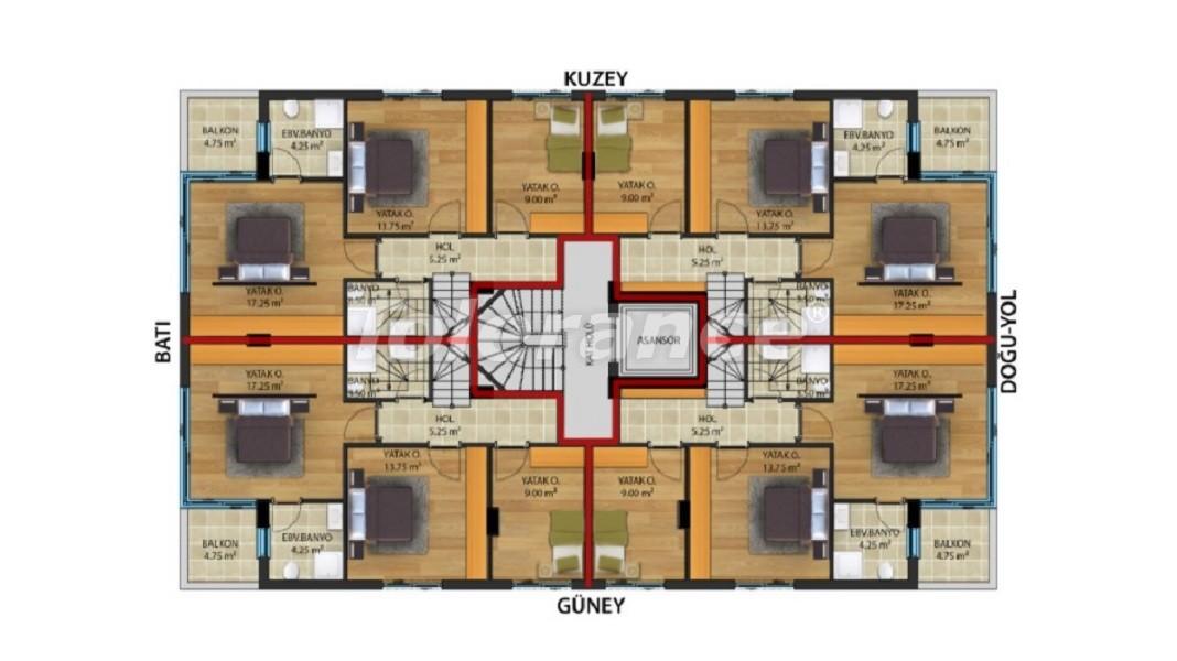 Квартиры класса люкс в Коньяалты,  Анталия от надежного застройщика - 30645 | Tolerance Homes