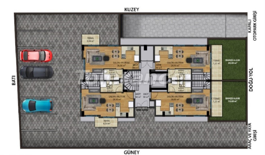 Квартиры класса люкс в Коньяалты,  Анталия от надежного застройщика - 30643 | Tolerance Homes
