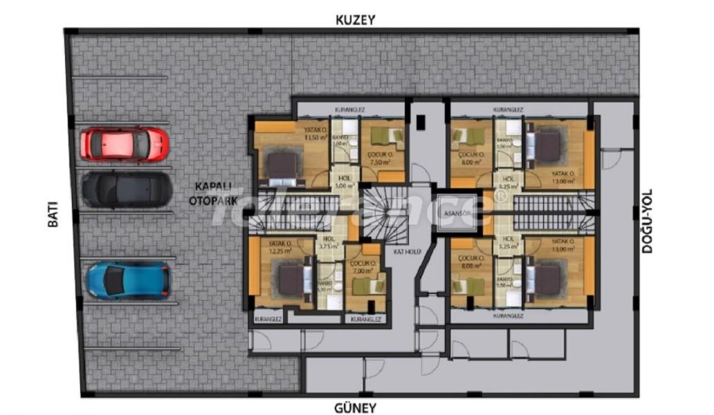 Квартиры класса люкс в Коньяалты,  Анталия от надежного застройщика - 30644 | Tolerance Homes
