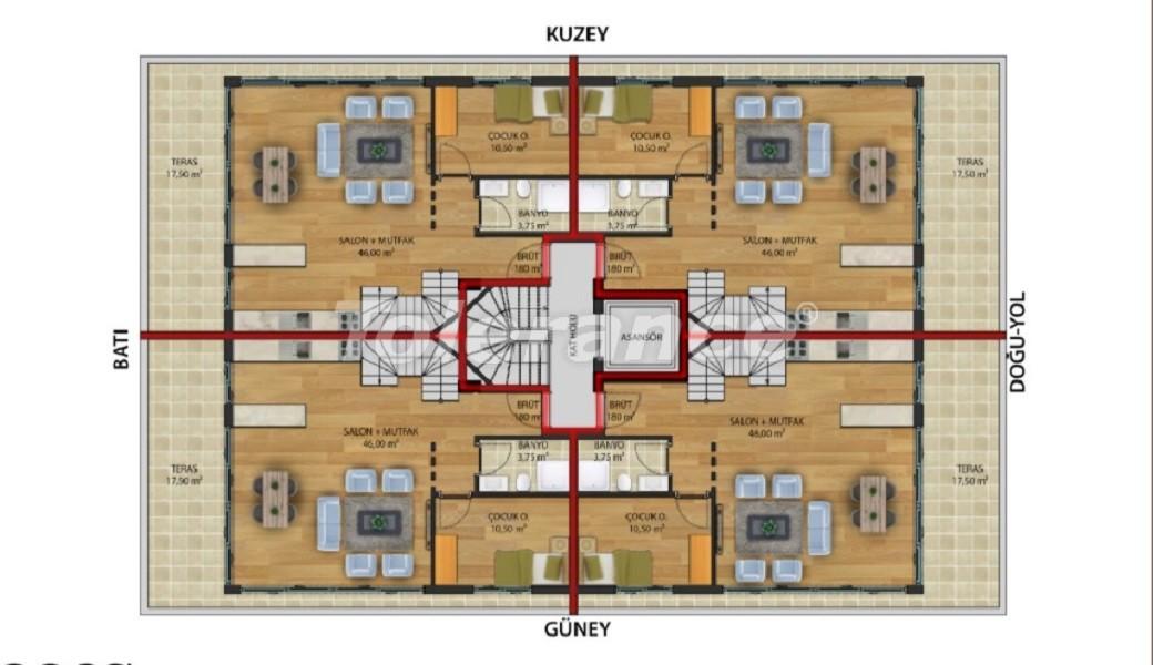 Квартиры класса люкс в Коньяалты,  Анталия от надежного застройщика - 30646 | Tolerance Homes