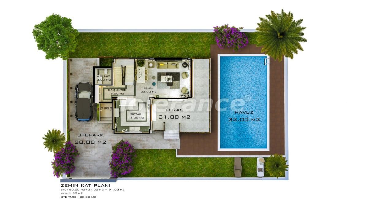 Шикарные виллы в Белеке с частным бассейном с рассрочкой до 1 года - 30883 | Tolerance Homes