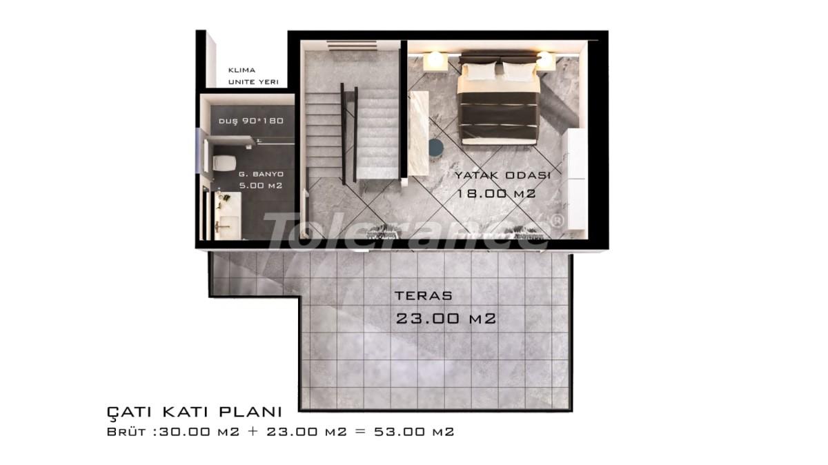 Шикарные виллы в Белеке с частным бассейном с рассрочкой до 1 года - 30885 | Tolerance Homes