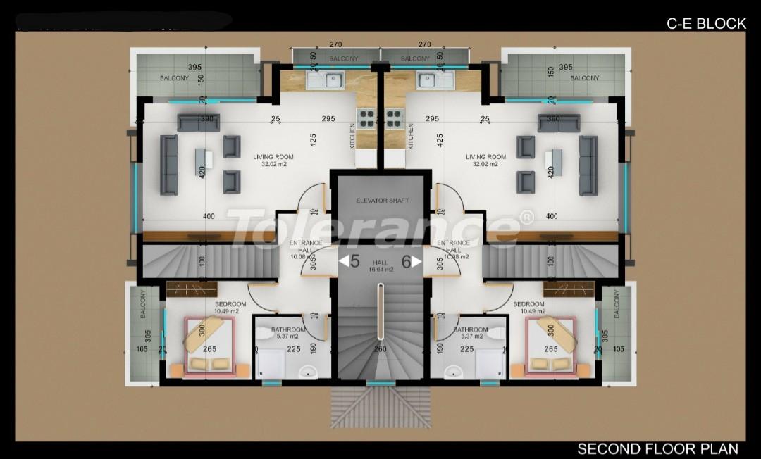 Квартиры в Фетхие от застройщика с рассрочкой - 30981 | Tolerance Homes