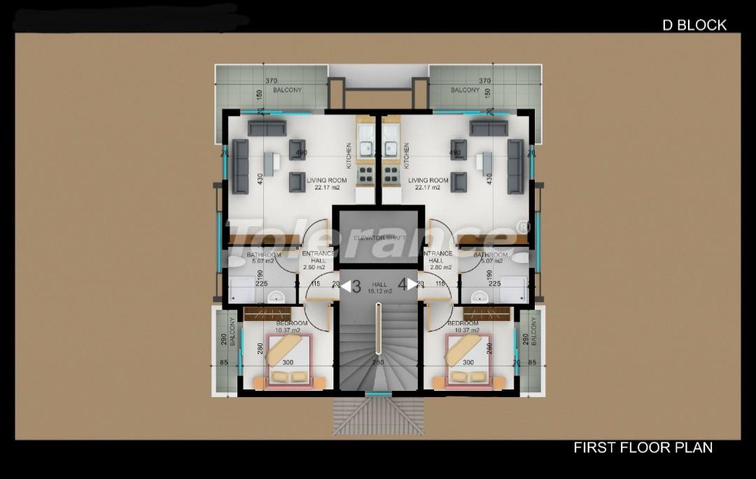 Квартиры в Фетхие от застройщика с рассрочкой - 30982 | Tolerance Homes