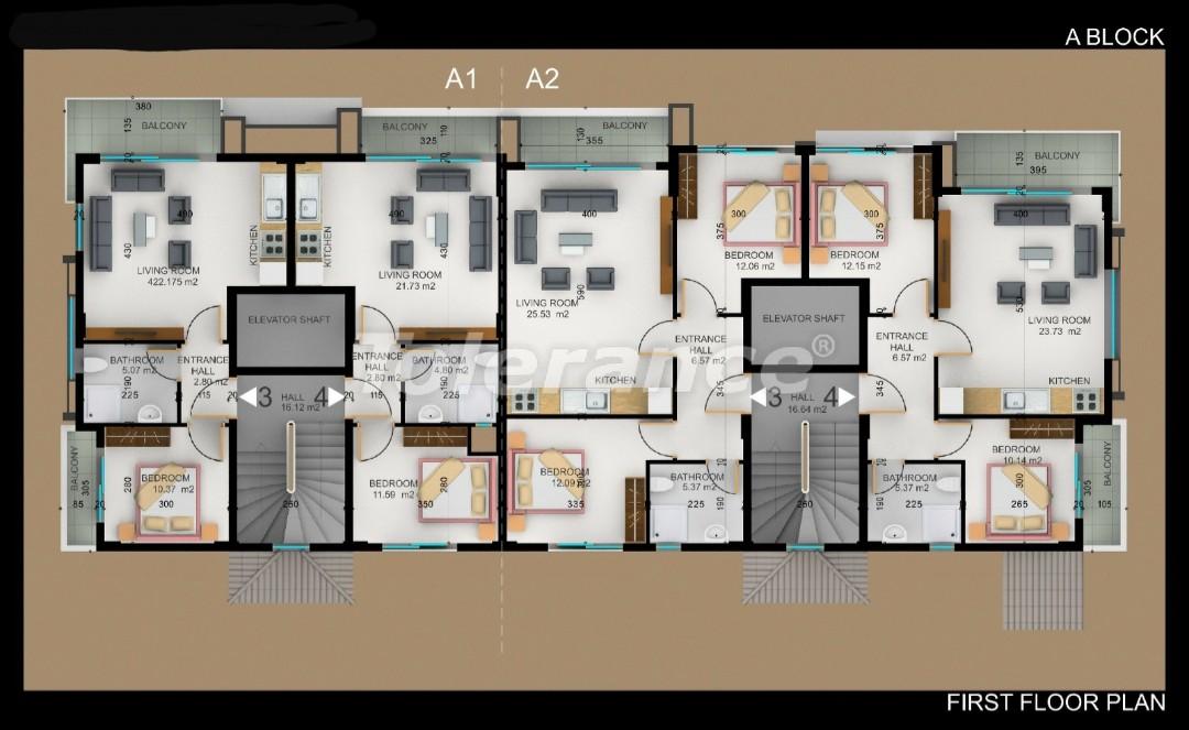 Квартиры в Фетхие от застройщика с рассрочкой - 30970 | Tolerance Homes