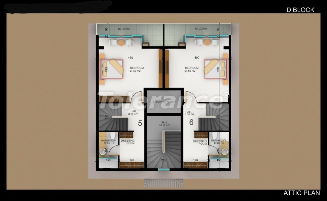 Квартиры в Фетхие от застройщика с рассрочкой - 30984   Tolerance Homes