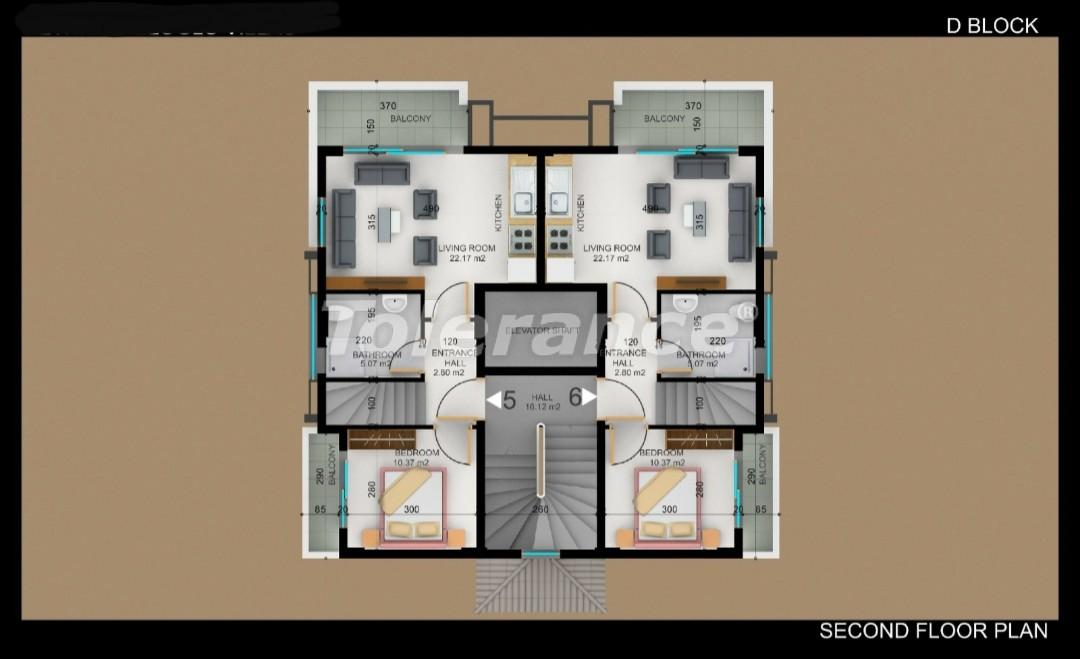 Квартиры в Фетхие от застройщика с рассрочкой - 30983   Tolerance Homes