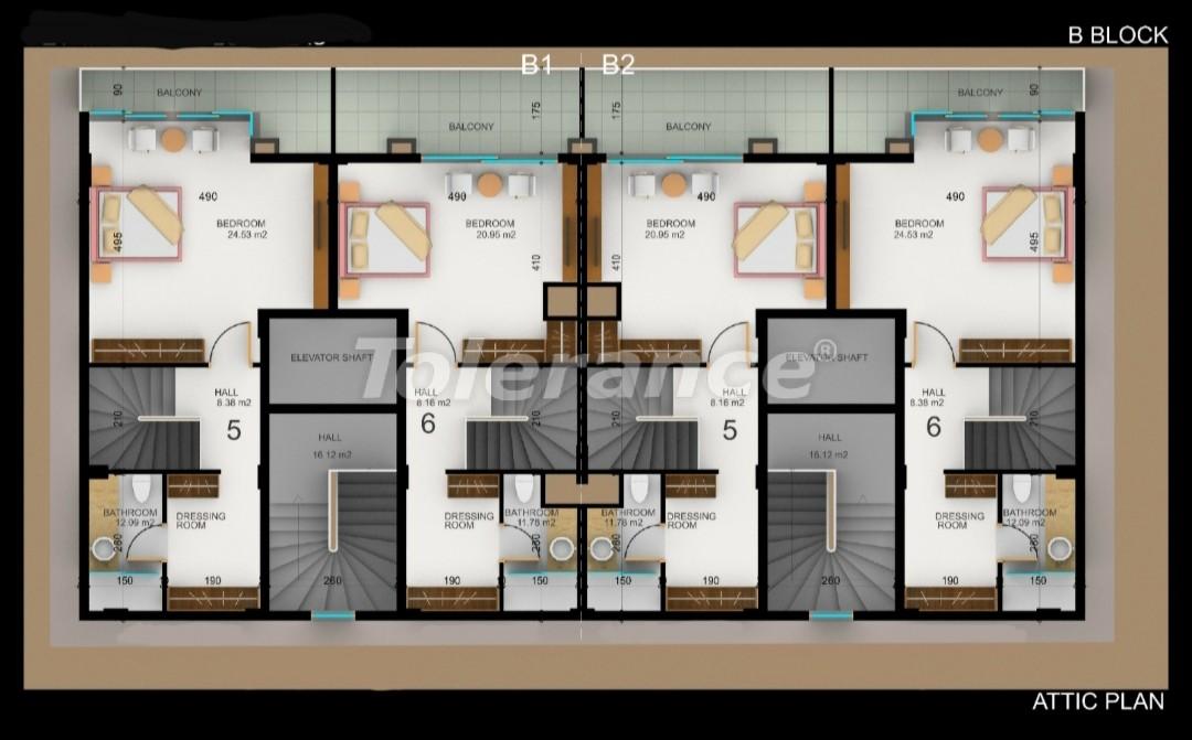 Квартиры в Фетхие от застройщика с рассрочкой - 30975   Tolerance Homes