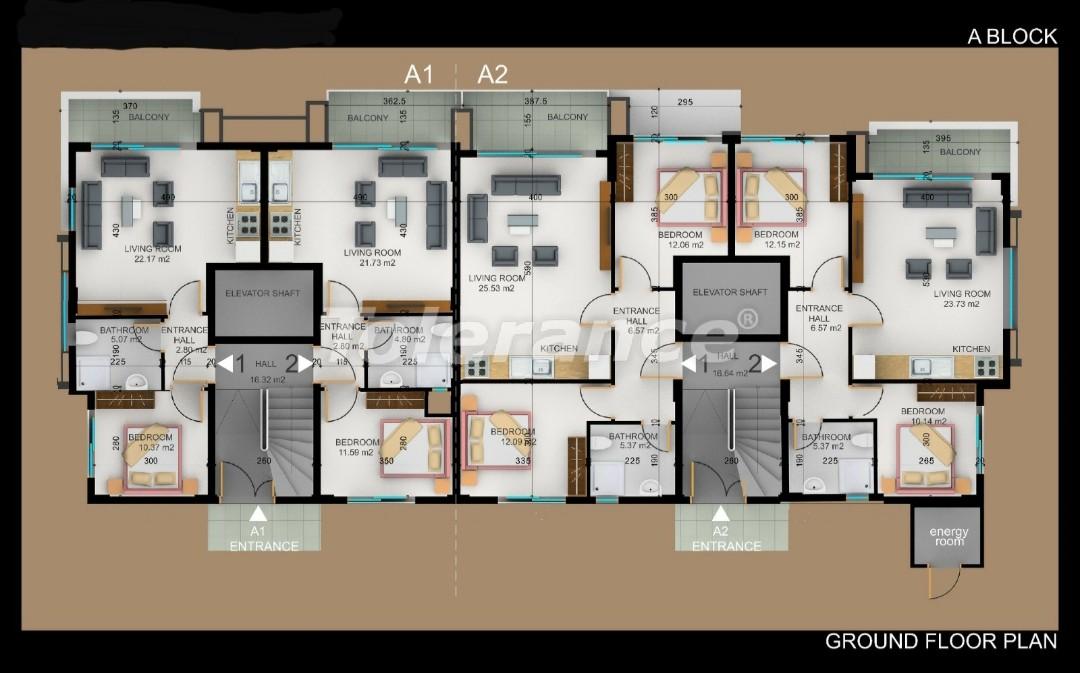 Квартиры в Фетхие от застройщика с рассрочкой - 30972   Tolerance Homes
