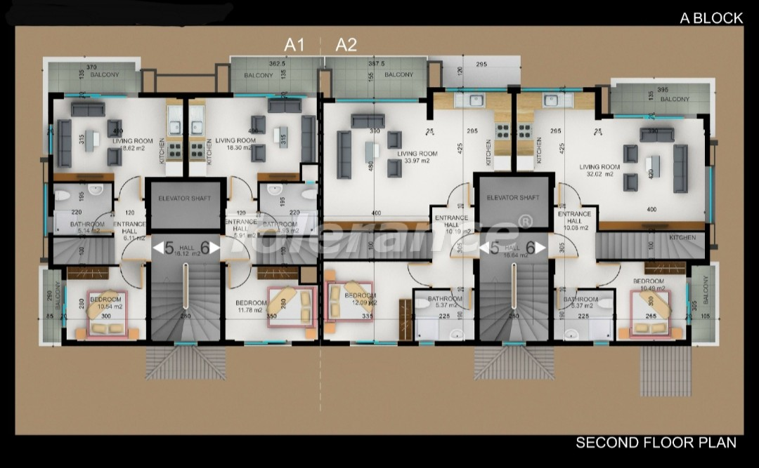 Квартиры в Фетхие от застройщика с рассрочкой - 30971   Tolerance Homes