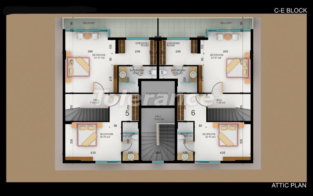 Квартиры в Фетхие от застройщика с рассрочкой - 30979   Tolerance Homes