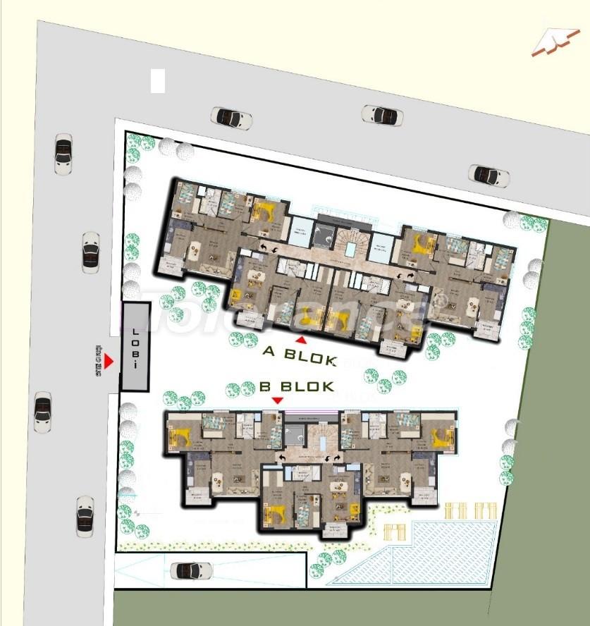 Шикарные современные квартиры в Муратпаша, Анталия в рассрочку от застройщика - 31485 | Tolerance Homes