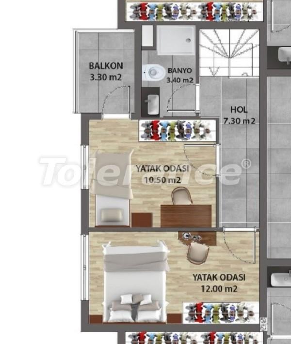 Современные квартиры в Ларе, Анталия от надежного застройщика - 31681 | Tolerance Homes