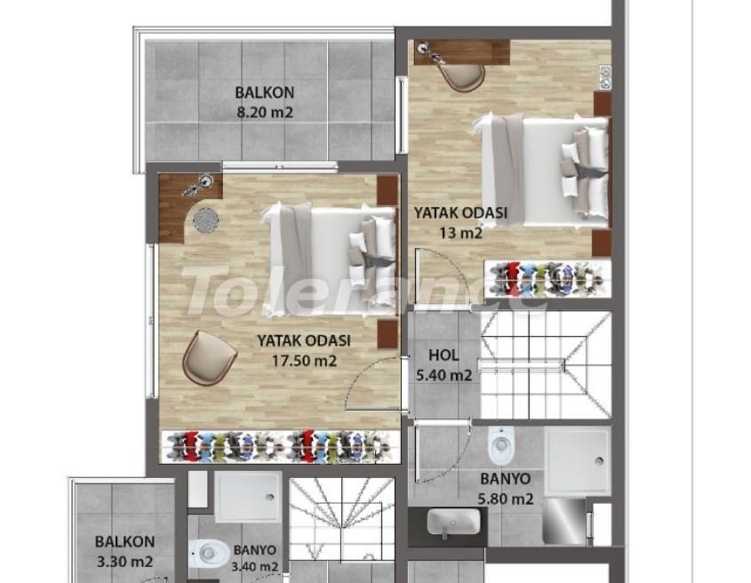 Современные квартиры в Ларе, Анталия от надежного застройщика - 31679 | Tolerance Homes