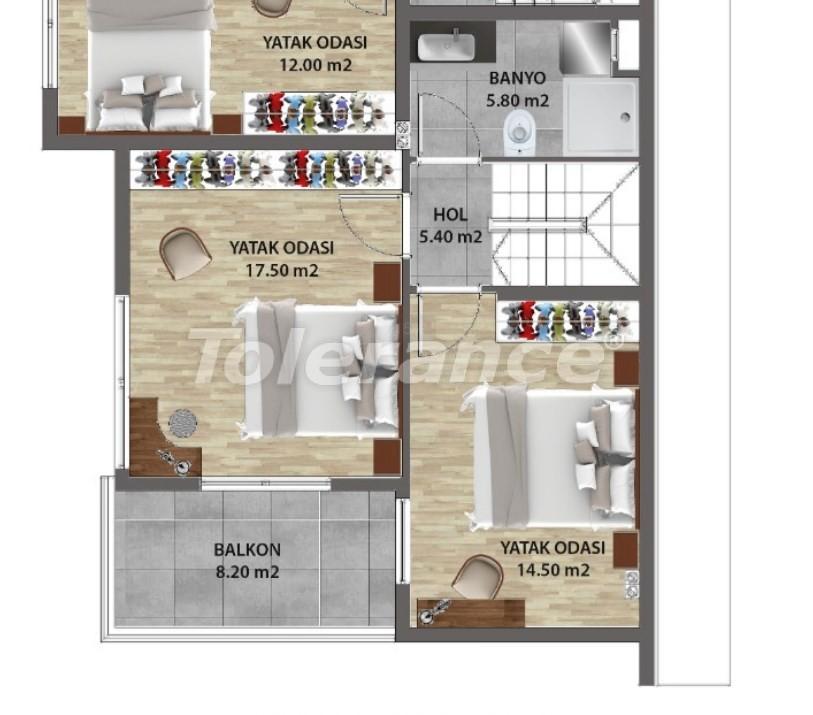 Современные квартиры в Ларе, Анталия от надежного застройщика - 31680 | Tolerance Homes