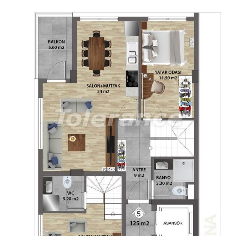 Современные квартиры в Ларе, Анталия от надежного застройщика - 31676 | Tolerance Homes