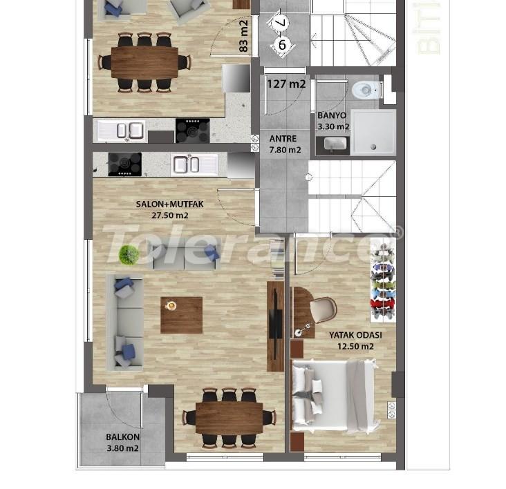 Современные квартиры в Ларе, Анталия от надежного застройщика - 31677 | Tolerance Homes