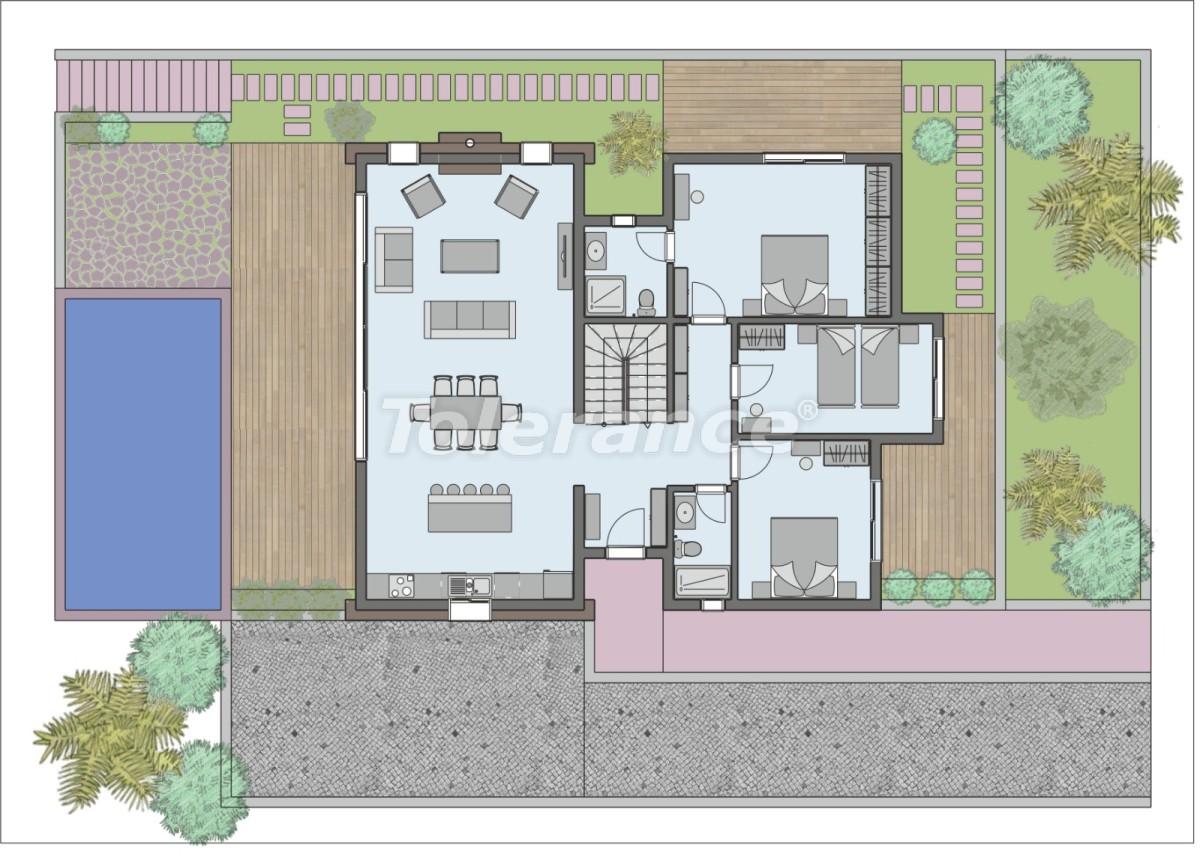 Элитные виллы в Фетхие с частным бассейном и гарантией аренды - 32877 | Tolerance Homes