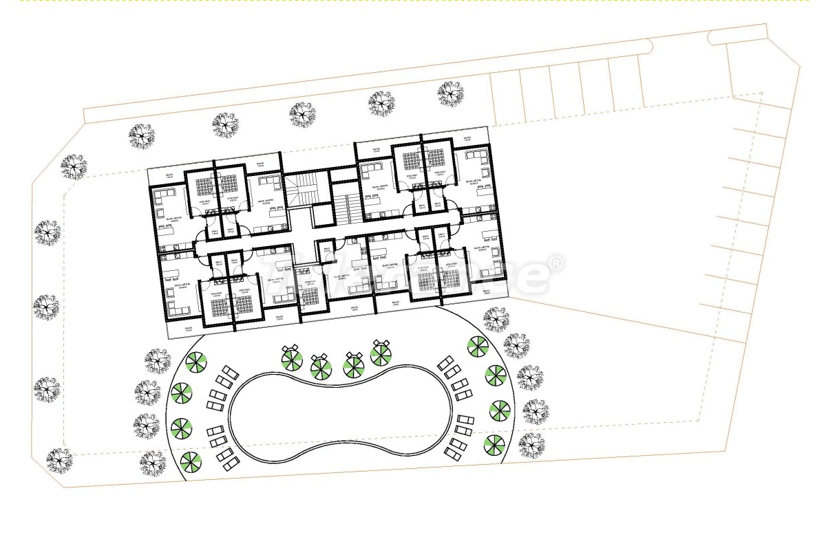 Современные апартаменты в Алании (Авсаллар) от надежного застройщика с рассрочкой платежа - 33249   Tolerance Homes