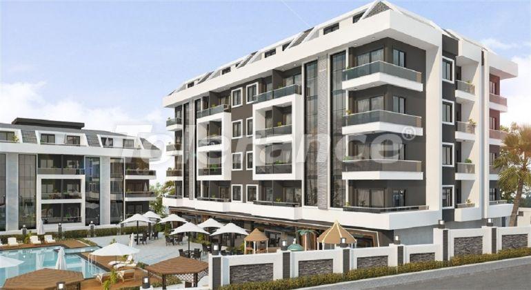 Недорогие и уютные апартаменты в новом комплексе в Алании, Оба - 33703   Tolerance Homes