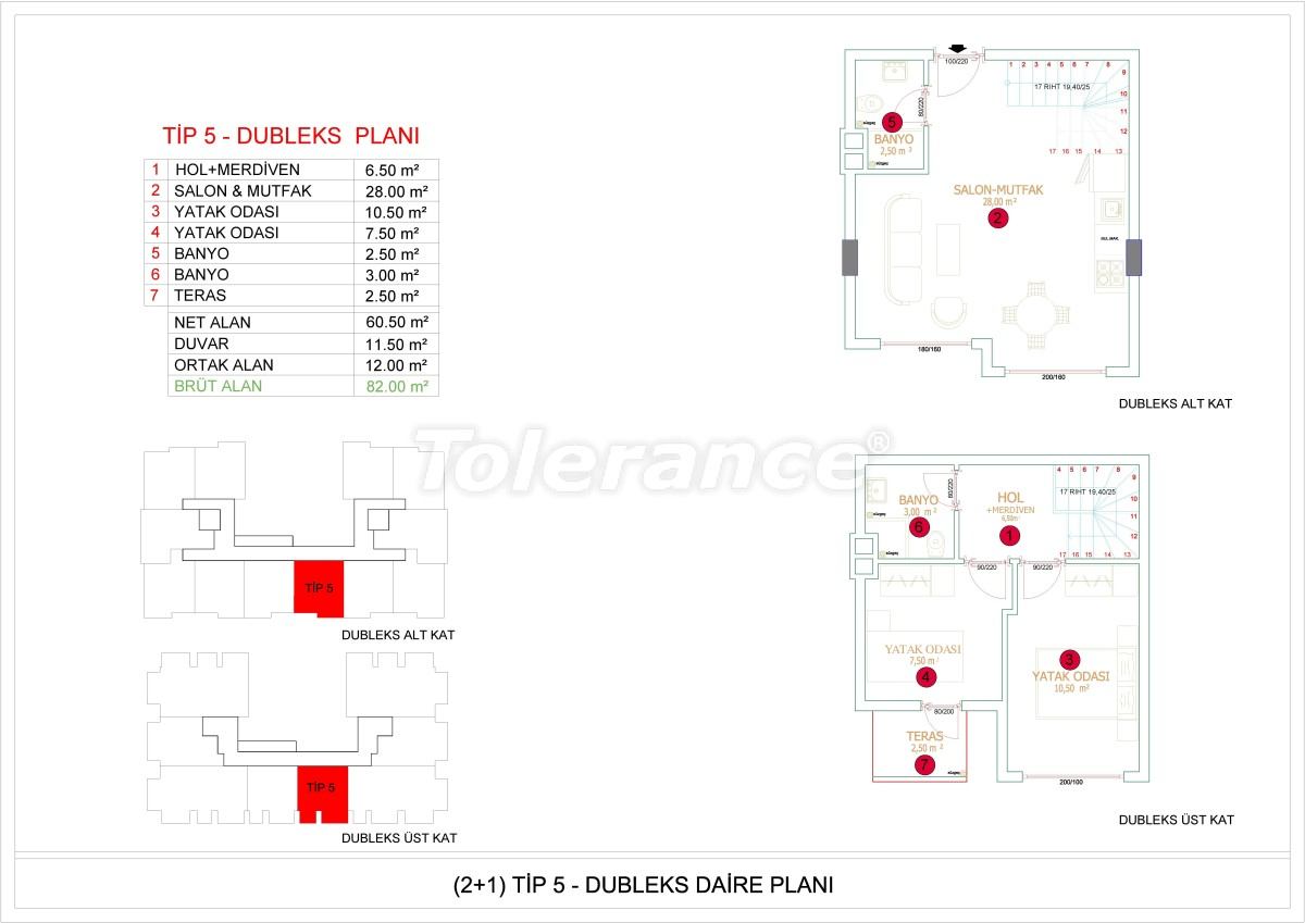 Недорогие и уютные апартаменты в новом комплексе в Алании, Оба - 33728   Tolerance Homes