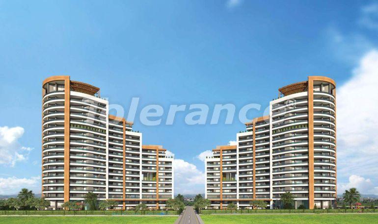 Просторные квартиры в Мезитли, Мерсине от застройщика, с видом на море - 33950 | Tolerance Homes