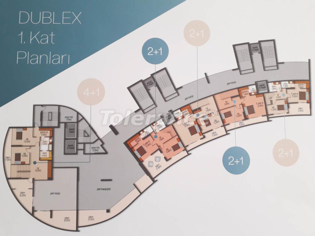 Просторные квартиры в Мезитли, Мерсине от застройщика, с видом на море - 33955 | Tolerance Homes