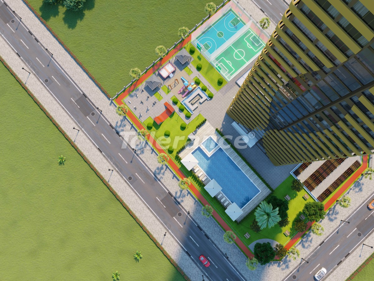 Элитные квартиры в Мезитли, Мерсине в комплексе с рассрочкой от застройщика - 34001   Tolerance Homes