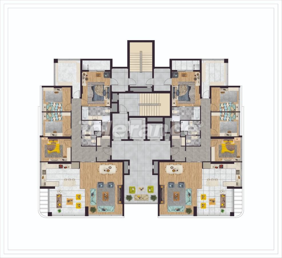 Элитные квартиры в Мезитли, Мерсине в комплексе с рассрочкой от застройщика - 33959   Tolerance Homes