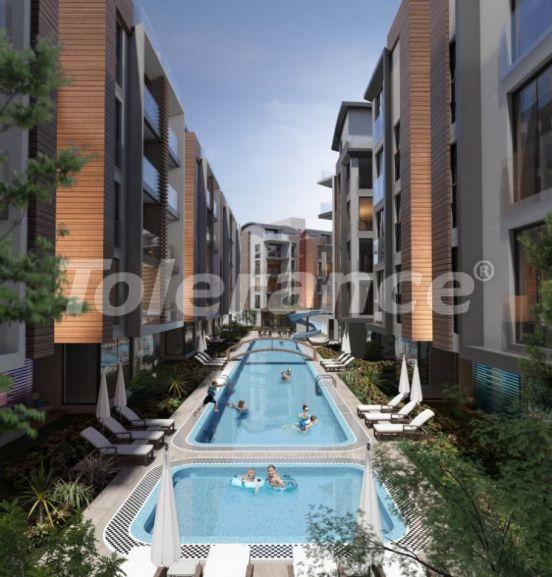 Четырехкомнатная квартира в Хурме, Коньяалты в комплексе с открытым и закрытым бассейнами - 34156 | Tolerance Homes