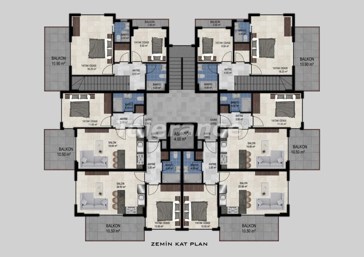 Квартиры в Авсалларе, Алания от застройщика - 34474   Tolerance Homes