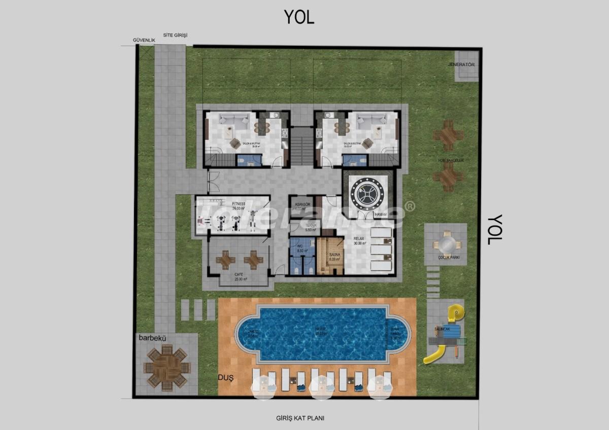 Квартиры в Авсалларе, Алания от застройщика - 34470   Tolerance Homes