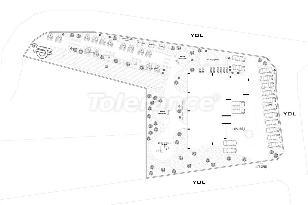 Апартаменты в Авсалларе, Алания от застройщика в комплексе с бассейном - 34532   Tolerance Homes