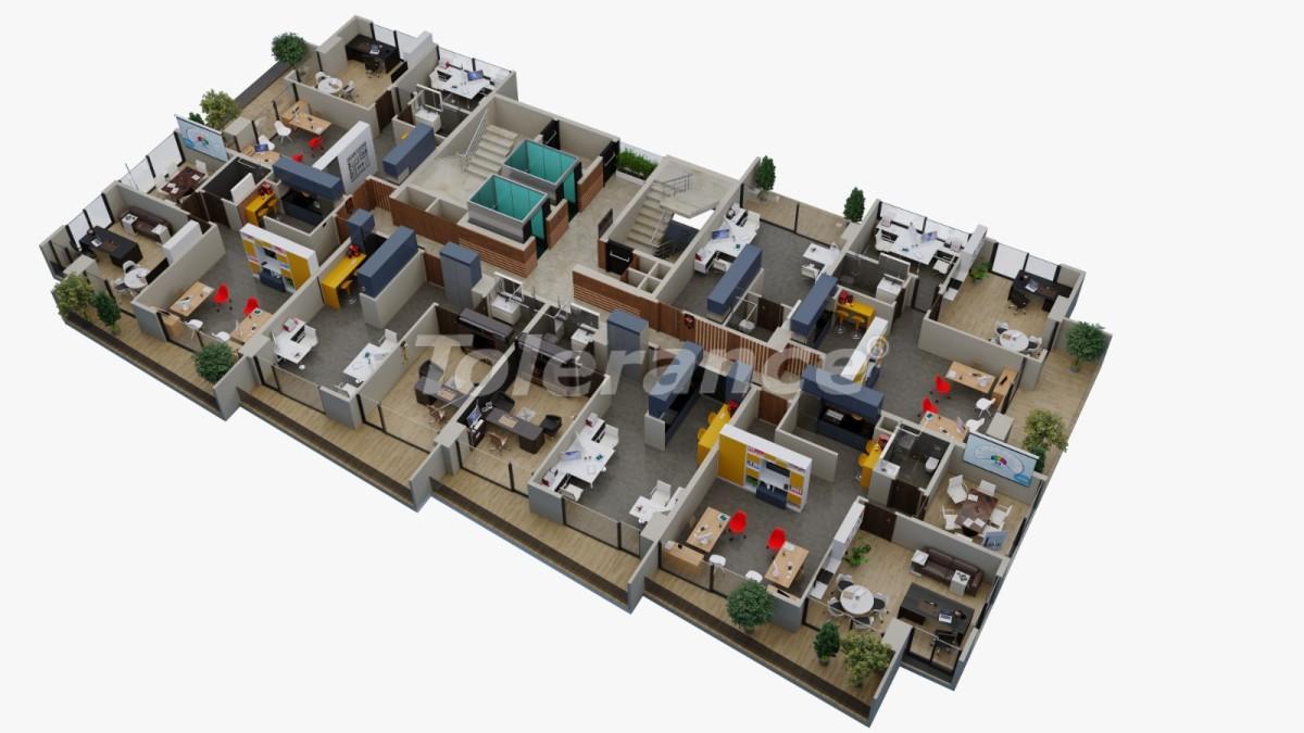 Офисные помещения в Енишехир, Мерсине - 35108 | Tolerance Homes