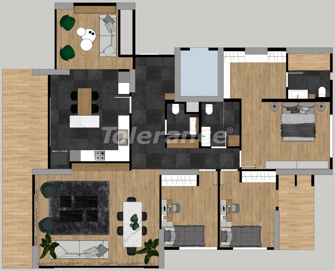 Квартиры класса люкс в Енишехире, Мерсине с возможностью получения гражданства Турции - 35160 | Tolerance Homes