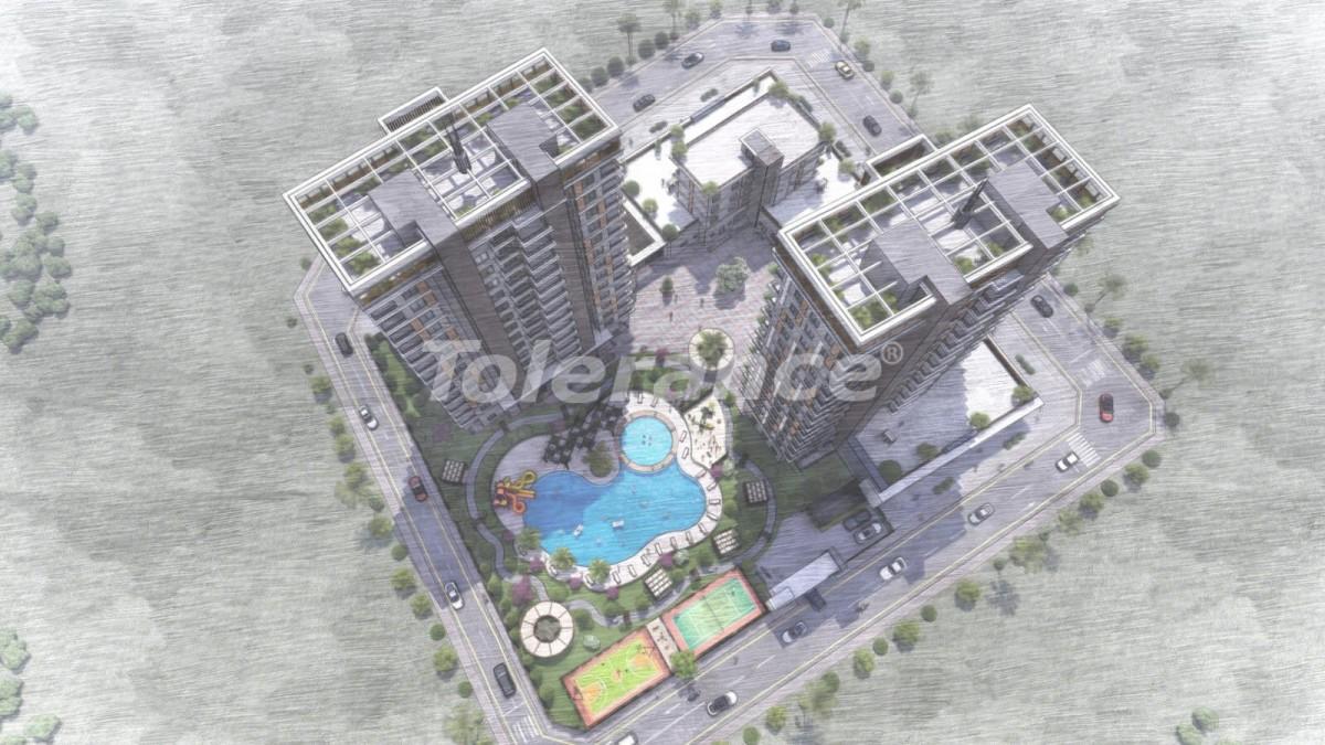 Квартиры в Тедже, Мерсине в комплексе с инфраструктурой и рассрочкой от застройщика - 35828 | Tolerance Homes