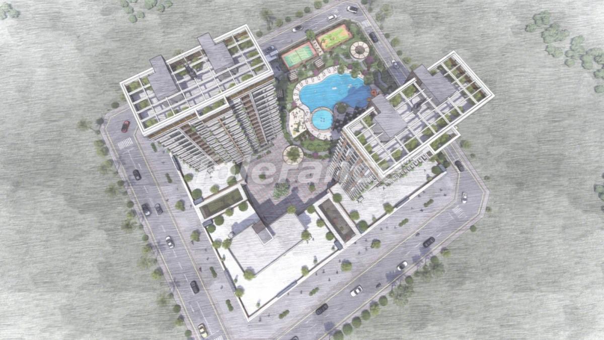 Квартиры в Тедже, Мерсине в комплексе с инфраструктурой и рассрочкой от застройщика - 35829 | Tolerance Homes