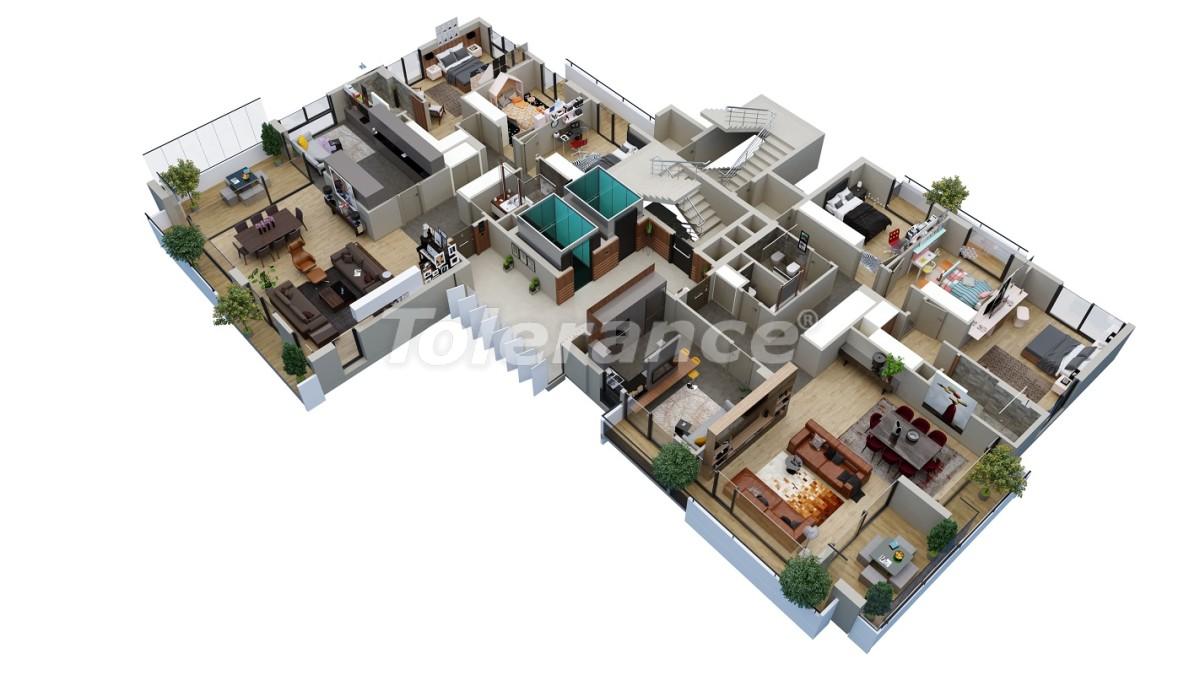 Квартиры класса люкс в Енишехир, Мерсине от застройщика с возможностью получения гражданства - 36050 | Tolerance Homes
