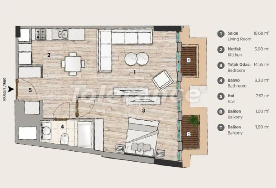 Квартиры современного дизайна в самом престижном районе Стамбула в рассрочку от застройщика - 36070 | Tolerance Homes