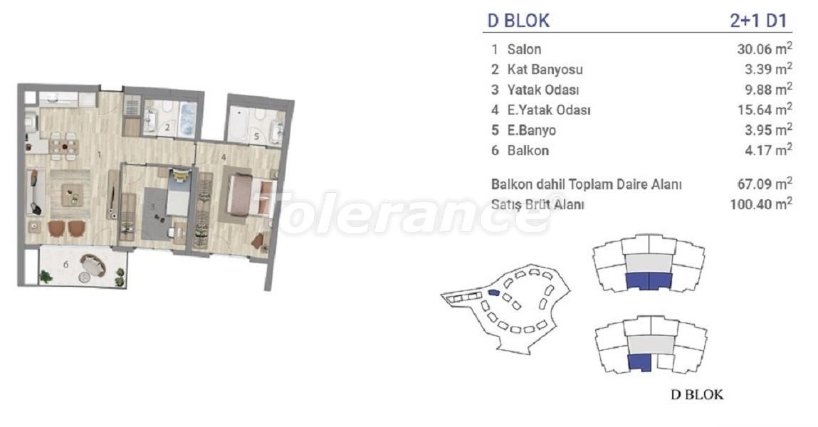 Квартиры в Эюпсултан, Стамбул в проекте с государственной гарантией - 36273 | Tolerance Homes