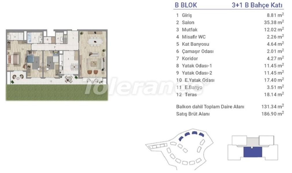 Квартиры в Эюпсултан, Стамбул в проекте с государственной гарантией - 36274 | Tolerance Homes