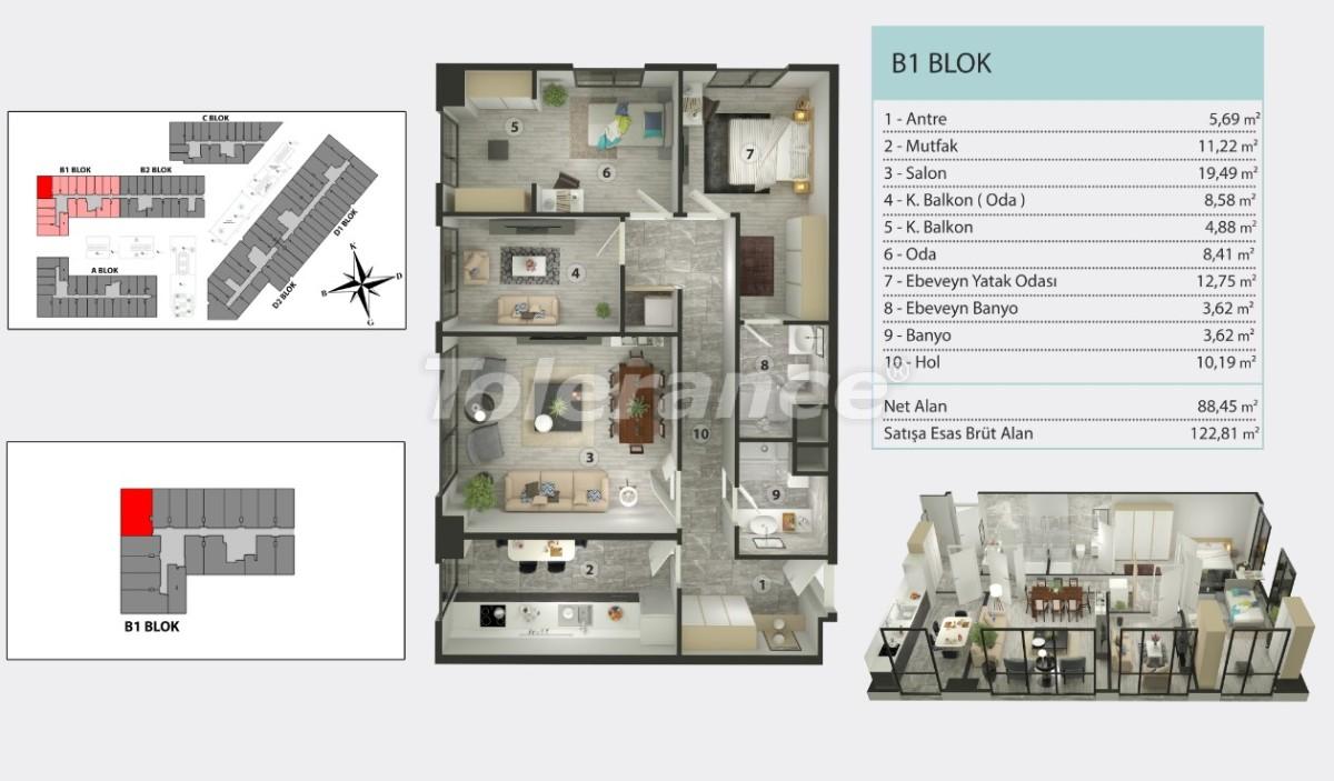 Квартиры в Кучукчекмедже, Стамбуле в рассрочку от застройщика - 36260 | Tolerance Homes