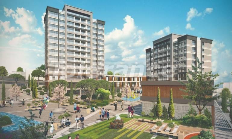 Современные апартаменты в Бейликдюзю, Стамбул выгодные для инвестиций с возможностью получения гражданства - 38612   Tolerance Homes
