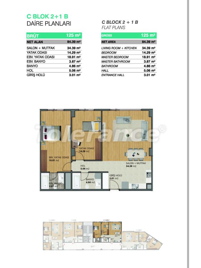 Современные апартаменты в Бейликдюзю, Стамбул выгодные для инвестиций с возможностью получения гражданства - 39080   Tolerance Homes