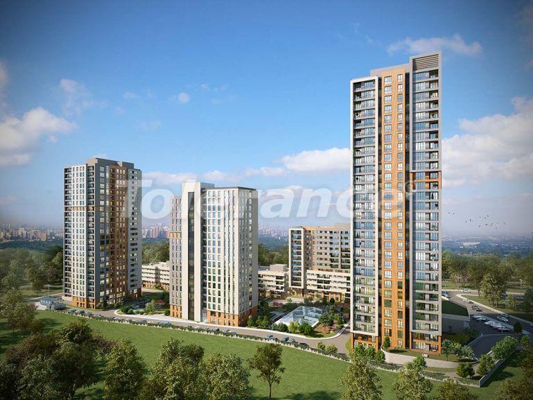 Современный комплекс с квартирами в Бахчешехире, Стамбуле в рассрочку на 9 лет от застройщика - 39137   Tolerance Homes