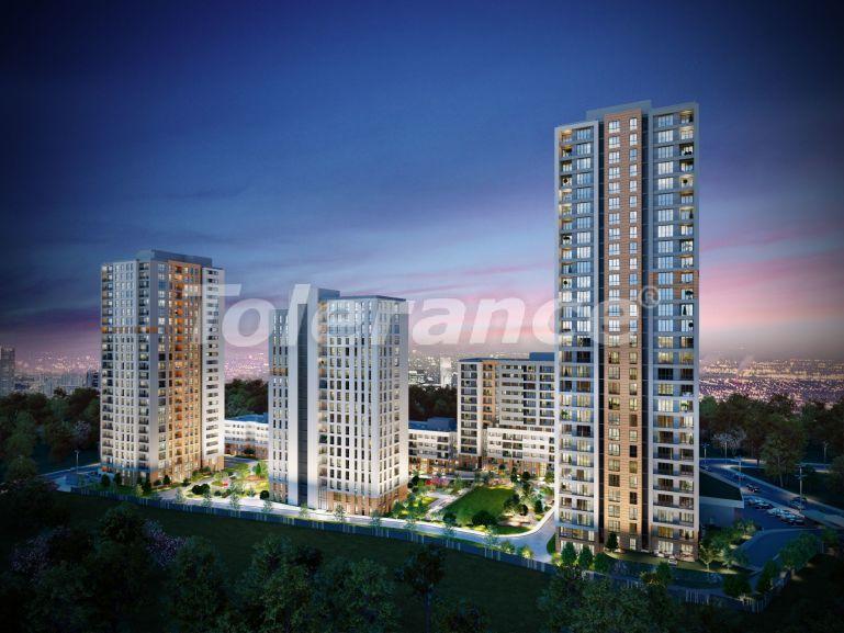 Современный комплекс с квартирами в Бахчешехире, Стамбуле в рассрочку на 9 лет от застройщика - 39138   Tolerance Homes