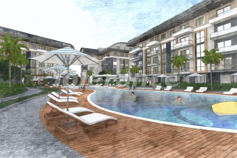 Элитные апартаменты в Оба, Алания в комплексе с бассейном - 39230   Tolerance Homes