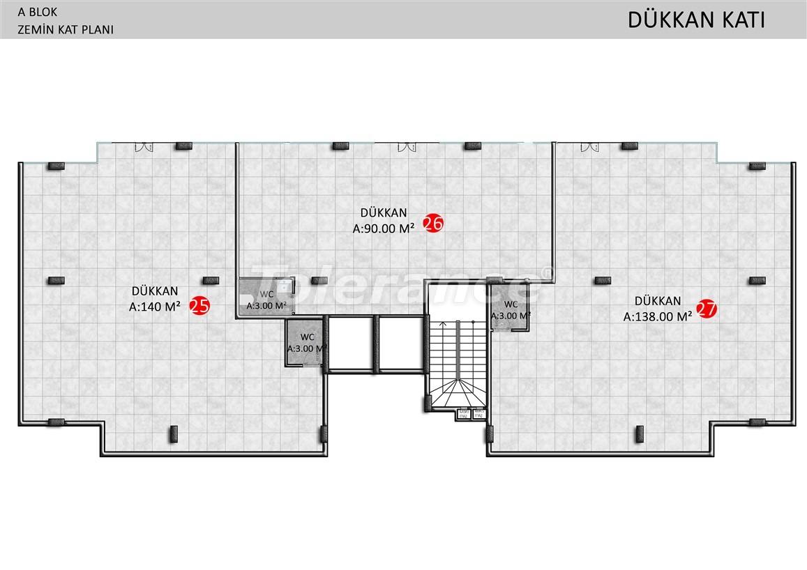 Элитные апартаменты в Оба, Алания в комплексе с бассейном - 39248   Tolerance Homes